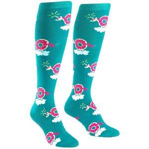 Sock it to me Knee High Socks Donuticorn NEW